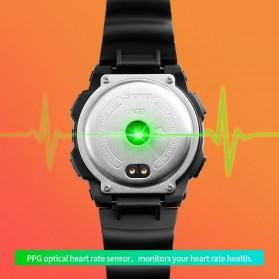 SKMEI Jam Tangan Olahraga Heartrate Smartwatch Bluetooth - 1438 - Blue - 6