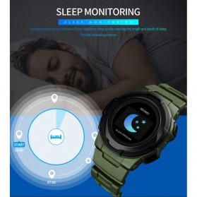 SKMEI Jam Tangan Olahraga Heartrate Smartwatch Bluetooth - 1438 - Blue - 8