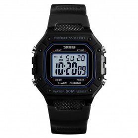 SKMEI Jam Tangan Digital Pria - 1496 - Black White