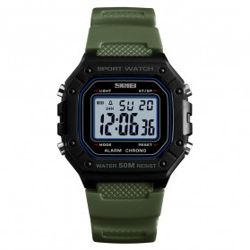 SKMEI Jam Tangan Digital Pria - 1496 - Army Green