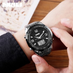 SKMEI Jam Tangan Digital Analog Pria - 1504 - Black - 2