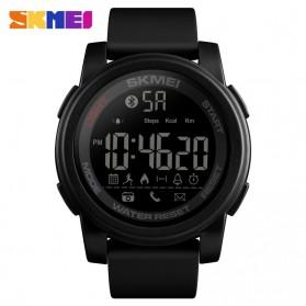 SKMEI Jam Tangan Olahraga Smartwatch Bluetooth - 1442 - Black
