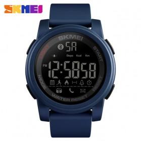SKMEI Jam Tangan Olahraga Smartwatch Bluetooth - 1442 - Blue