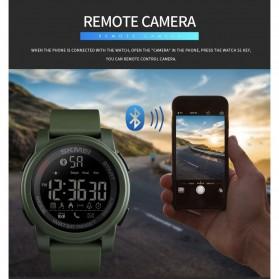 SKMEI Jam Tangan Olahraga Smartwatch Bluetooth - 1442 - Blue - 10