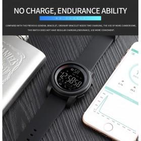 SKMEI Jam Tangan Olahraga Smartwatch Bluetooth - 1442 - Blue - 11