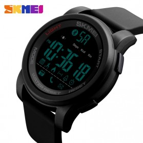 SKMEI Jam Tangan Olahraga Smartwatch Bluetooth - 1442 - Blue - 2