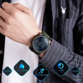 SKMEI Jam Tangan Olahraga Smartwatch Bluetooth - 1442 - Blue - 3