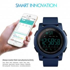SKMEI Jam Tangan Olahraga Smartwatch Bluetooth - 1442 - Blue - 5