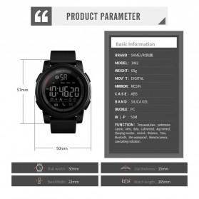 SKMEI Jam Tangan Olahraga Smartwatch Bluetooth - 1442 - Blue - 6