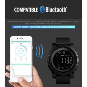SKMEI Jam Tangan Olahraga Smartwatch Bluetooth - 1442 - Blue - 7