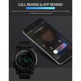 SKMEI Jam Tangan Olahraga Smartwatch Bluetooth - 1442 - Blue - 8