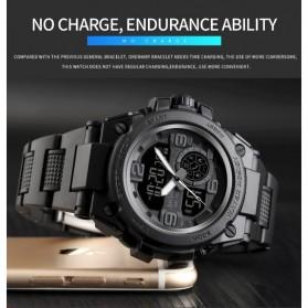 SKMEI Jam Tangan Olahraga Smartwatch Bluetooth - 1517 - Black - 10
