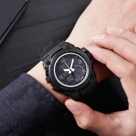 SKMEI Jam Tangan Olahraga Smartwatch Bluetooth - 1517 - Black - 5