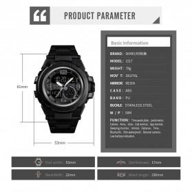SKMEI Jam Tangan Olahraga Smartwatch Bluetooth - 1517 - Black - 6