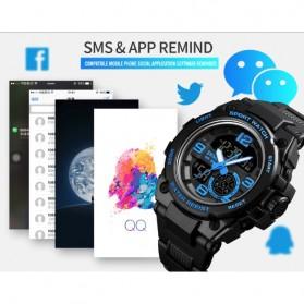 SKMEI Jam Tangan Olahraga Smartwatch Bluetooth - 1517 - Black - 8