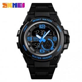 SKMEI Jam Tangan Olahraga Smartwatch Bluetooth - 1517 - Blue
