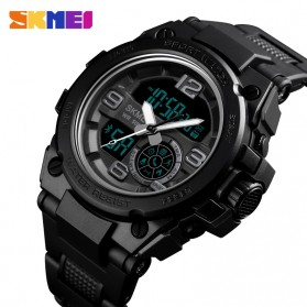 SKMEI Jam Tangan Olahraga Smartwatch Bluetooth - 1517 - Blue - 2