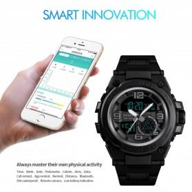 SKMEI Jam Tangan Olahraga Smartwatch Bluetooth - 1517 - Blue - 3