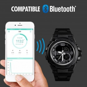 SKMEI Jam Tangan Olahraga Smartwatch Bluetooth - 1517 - Blue - 4