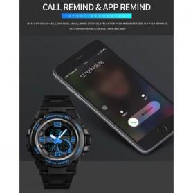 SKMEI Jam Tangan Olahraga Smartwatch Bluetooth - 1517 - Blue - 7
