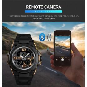 SKMEI Jam Tangan Olahraga Smartwatch Bluetooth - 1517 - Blue - 9