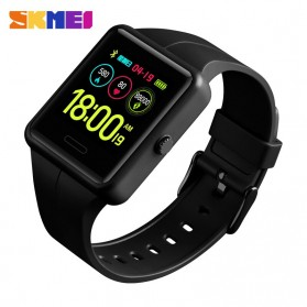 SKMEI Jam Tangan Olahraga Heartrate Smartwatch Bluetooth - 1525 - Black