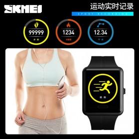 SKMEI Jam Tangan Olahraga Heartrate Smartwatch Bluetooth - 1525 - Black - 4