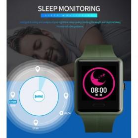 SKMEI Jam Tangan Olahraga Heartrate Smartwatch Bluetooth - 1525 - Army Green - 11