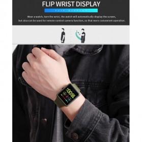 SKMEI Jam Tangan Olahraga Heartrate Smartwatch Bluetooth - 1525 - Army Green - 12