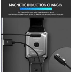SKMEI Jam Tangan Olahraga Heartrate Smartwatch Bluetooth - 1525 - Army Green - 14
