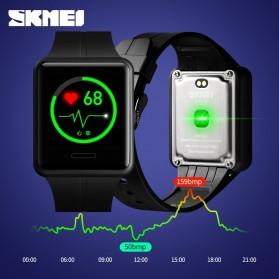 SKMEI Jam Tangan Olahraga Heartrate Smartwatch Bluetooth - 1525 - Army Green - 3