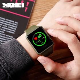 SKMEI Jam Tangan Olahraga Heartrate Smartwatch Bluetooth - 1525 - Army Green - 6