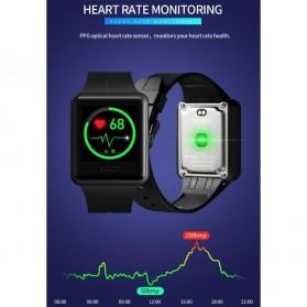SKMEI Jam Tangan Olahraga Heartrate Smartwatch Bluetooth - 1525 - Army Green - 7