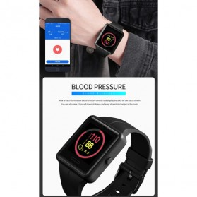 SKMEI Jam Tangan Olahraga Heartrate Smartwatch Bluetooth - 1525 - Army Green - 8