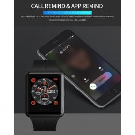 SKMEI Jam Tangan Olahraga Heartrate Smartwatch Bluetooth - 1525 - Army Green - 9