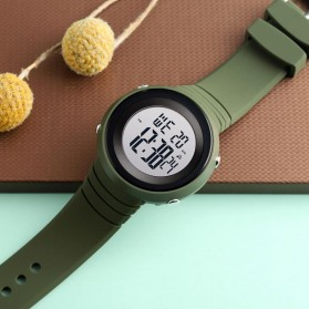 SKMEI Jam Tangan Digital Pria - 1507 - Army Green - 5