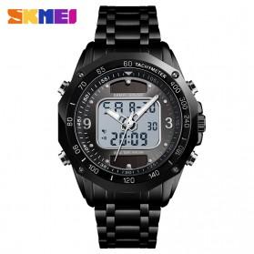 SKMEI Jam Tangan Solar Digital Analog Pria - 1493 - Black/Black