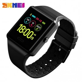 SKMEI Jam Tangan Olahraga Heartrate Smartwatch Bluetooth - 1526 - Black