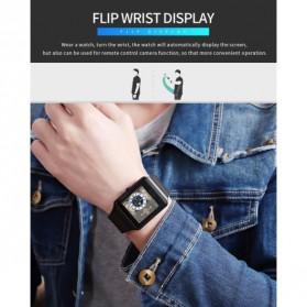 SKMEI Jam Tangan Olahraga Heartrate Smartwatch Bluetooth - 1526 - Black - 10