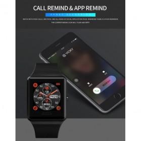SKMEI Jam Tangan Olahraga Heartrate Smartwatch Bluetooth - 1526 - Black - 11