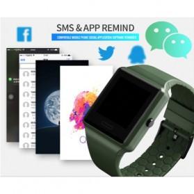 SKMEI Jam Tangan Olahraga Heartrate Smartwatch Bluetooth - 1526 - Black - 12