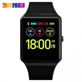 SKMEI Jam Tangan Olahraga Heartrate Smartwatch Bluetooth - 1526 - Black - 2