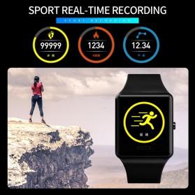 SKMEI Jam Tangan Olahraga Heartrate Smartwatch Bluetooth - 1526 - Black - 4