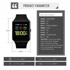 SKMEI Jam Tangan Olahraga Heartrate Smartwatch Bluetooth - 1526 - Black - 6
