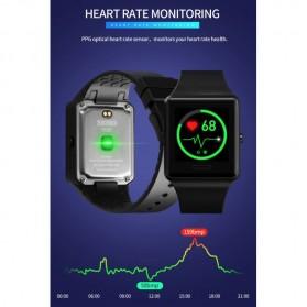 SKMEI Jam Tangan Olahraga Heartrate Smartwatch Bluetooth - 1526 - Black - 7