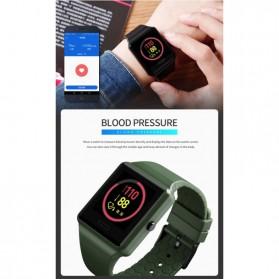 SKMEI Jam Tangan Olahraga Heartrate Smartwatch Bluetooth - 1526 - Black - 8