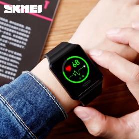 SKMEI Jam Tangan Olahraga Heartrate Smartwatch Bluetooth - 1526 - Army Green - 5