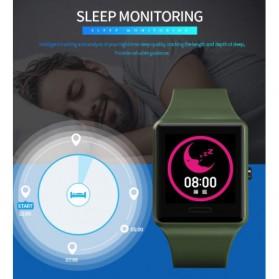 SKMEI Jam Tangan Olahraga Heartrate Smartwatch Bluetooth - 1526 - Army Green - 9