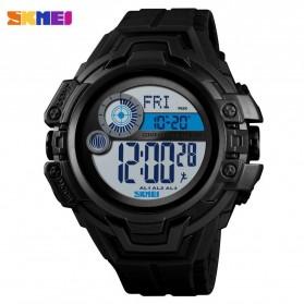 SKMEI Jam Tangan Digital Pria Pedometer Compass - 1447 - Black