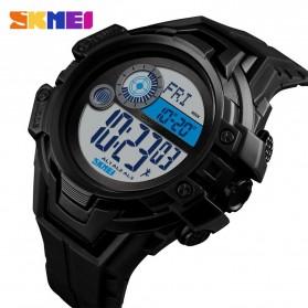 SKMEI Jam Tangan Digital Pria Pedometer Compass - 1447 - Black - 2
